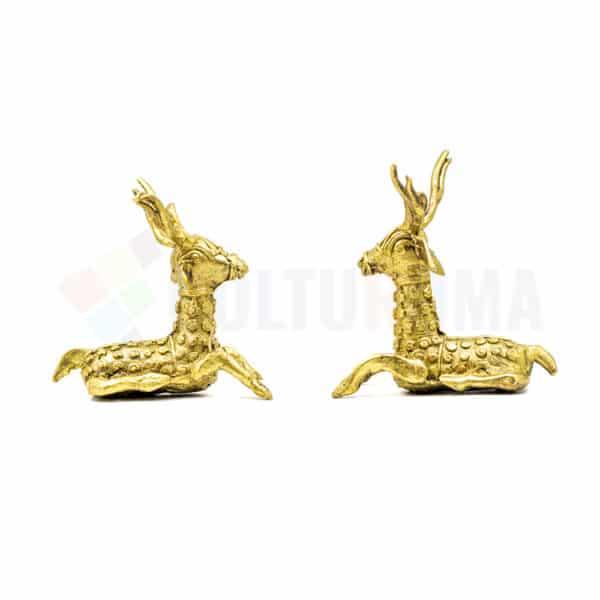 Dhokra Home Decor - Basterart Deers