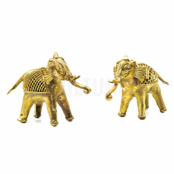 Dhokra Home Decor - Bastar Art Elephant