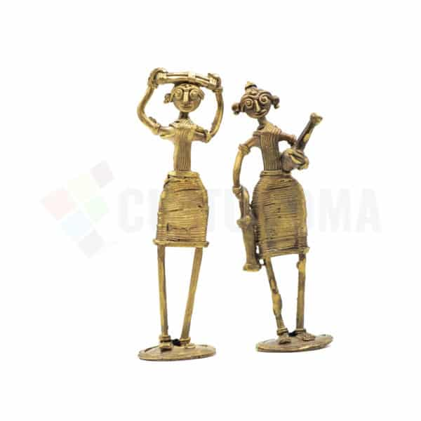 Dhokra Home Decor - Tribal Workers in DHOKRA