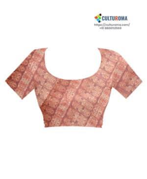 Linen Cotton Print Sharee