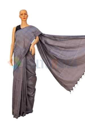 Cotton Handloom - Grey