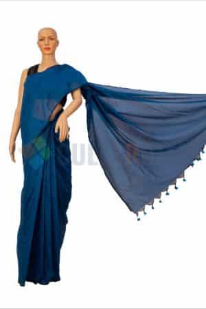 Cotton Handloom - Blue