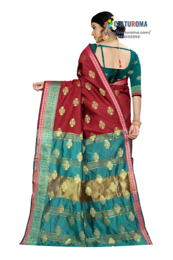 Pure Banarasi Silk Sharee