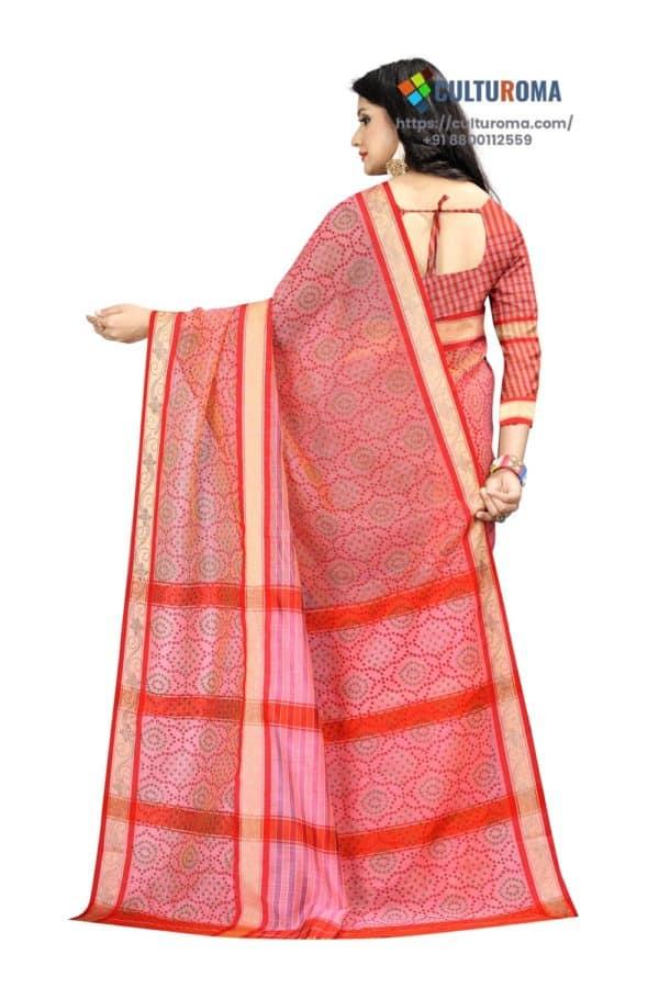 Linen Cotton Bhandni Print