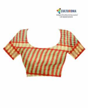 Linen Cotton Bandhni print